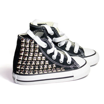 Kid's Custom Studded Converse