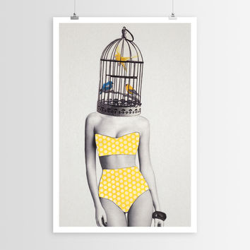 Jen Rome's Bird Brained Babe POSTER