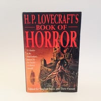 H.P. Lovecraft's Book of Horror 1993 UK Edition Hardcover Anthology