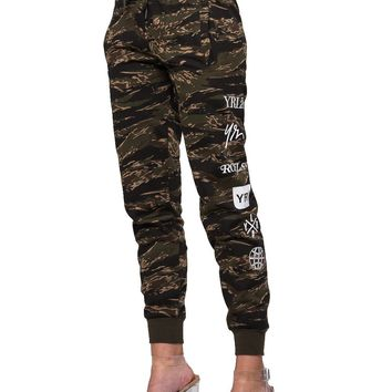Micah Jr. Sweatpants - Tiger Camo