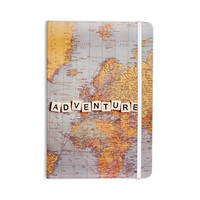 "Sylvia Cook ""Adventure Map"" World Everything Notebook"