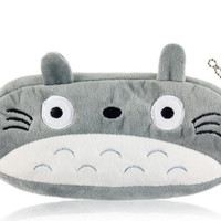 Miyazaki Totoro Soft Kids Pen Pencil Case bag wallet coin cosmetic pouch mononoke spirited away ponyo