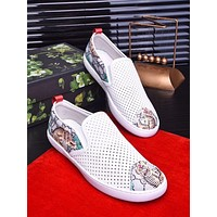 Gucci Men's Canvas Fashion Sneakers Shoes