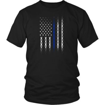 *Proud to Be An American Police Office! Tee
