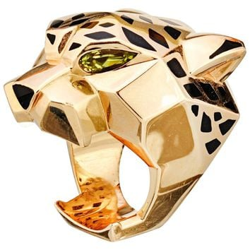 Cartier Large Panthère Gold Ring