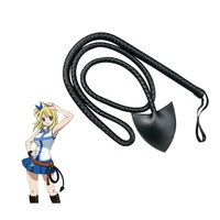 HOT Anime Fairy Tail Lucy Heartfilia Leather Star Whip Cosplay Accessory Halloween Party Props