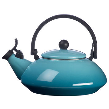 Le Creuset Enamel On Steel 1.6-qt. Zen Tea Kettle | Wayfair