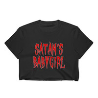 SATAN'S BABYGIRL Crop Top from GHOULBABE
