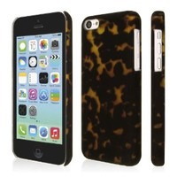 Empire Signature Series Slim-Fit Case for Apple iPhone 5C - Retail Packaging - Tortoise Shell