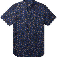Navy Big Cat S/S Shirt