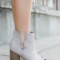 London Fog Booties - Taupe