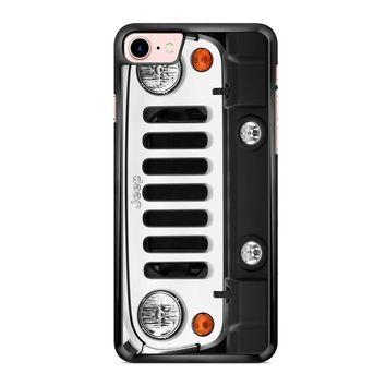 Jeep Wrangler White 2 1 iPhone 7 Case