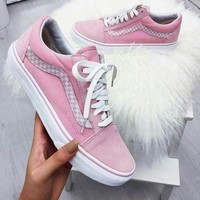 Trendsetter VANS Old Skool Canvas Flat Sneakers Sport Shoes