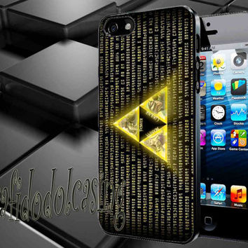 Legend of Zelda Triforce Case For iPhone 4/4s, iPhone 5/5S/5C, Samsung S3 i9300, Samsung S4 i9500 *rafidodolcasing*
