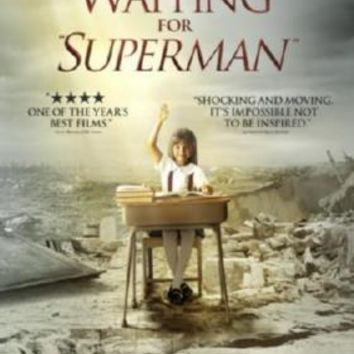 Waiting For Superman Movie poster Metal Sign Wall Art 8in x 12in