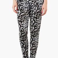 Topshop Print Tapered Trousers   Nordstrom