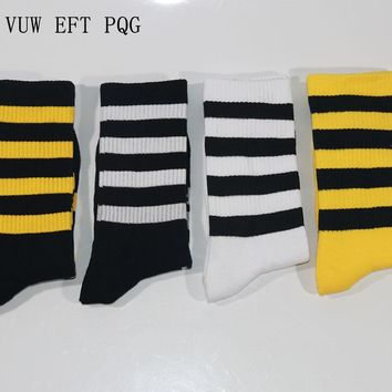 Fashion street style sock rock roll hip hop boy girl men women socks cotton long brand new high quality 4Pairs/a Lot