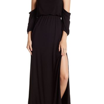 Go Couture Off-The-Shoulder Maxi Dress