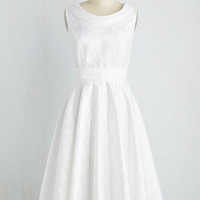 Vintage Inspired Sleeveless Have You Serene Anything Like It? Dress