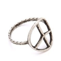 Bing Bang Peace Sign Ring | SHOPBOP