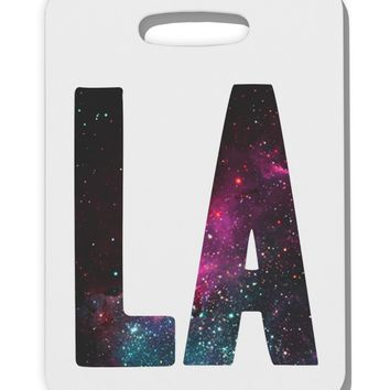 LA Galaxy Thick Plastic Luggage Tag