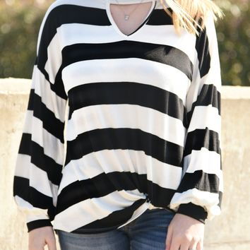 Sweet Escape Striped Top