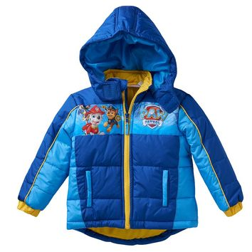 Paw Patrol Marshall & Chase Puffer Jacket - Toddler Boy, Size: