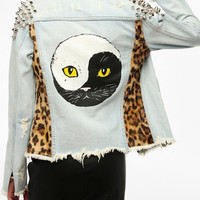 Urban Outfitters - UNIF Cat Denim Jacket