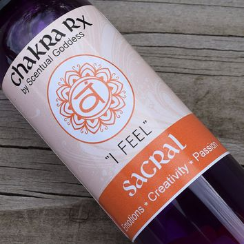 Sacral Chakra Spray - I FEEL - Creativity, Passion & Feminine Power