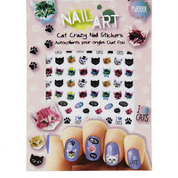 Cat Nail Stickers
