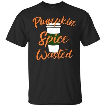 Pumpkin Spice Wasted Tshirt