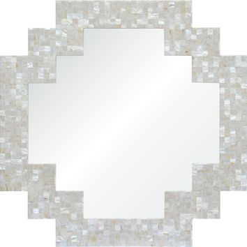 Quick Overview:Mother Of Pearl Mirror