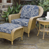 Tortuga Outdoor Lexington Chair, Ottoman and Side Table Bundle
