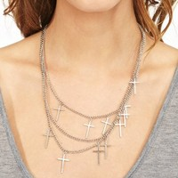 Cross To Bear Necklace