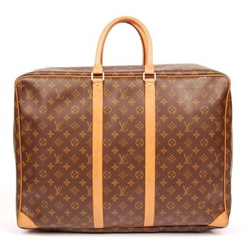 Louis Vuitton Brown Canvas Sirius Weekend/Travel Bag 5504 (Authentic Pre-owned)