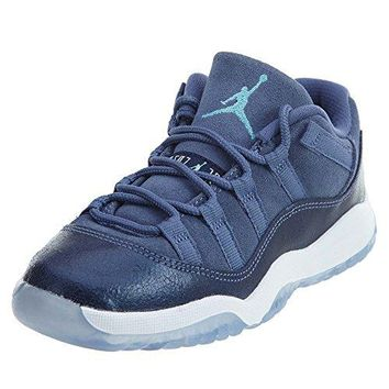 Jordan Little Kids Jordan 11 Retro Low (PS) (blue moon / polarized blue-binary blue)  Jordan 11