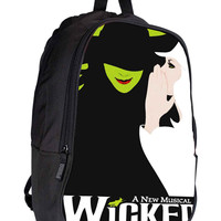 Wicked Broadway The Wizard Of Oz for Backpack / Custom Bag / School Bag / Children Bag / Custom School Bag *02*