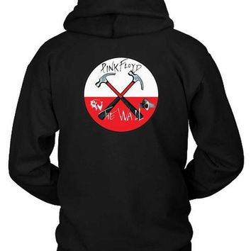 CREYH9S Pink Floyd The Wall Combination Hoodie Two Sided