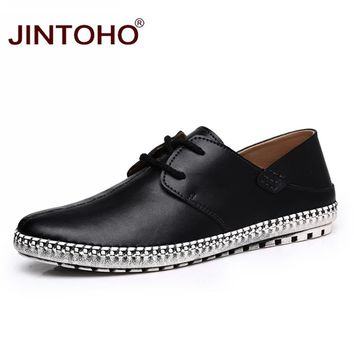 Fashion Men Leather Shoes Casual Black Shoes Genuine Leather Moccasins Casual Male Leather Shoes Loafers Moccasins