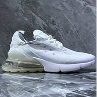 NIKE AIR MAX 270  Yarn mesh half-palm air-cushioned running shoes