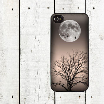 Moonlight Tree iPhone Case - for iphone 4,4s & iphone 5
