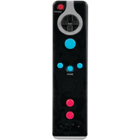 dreamGEAR DGWII-3178 Nintendo Wii Controller Action Remote Plus Black W/Strap