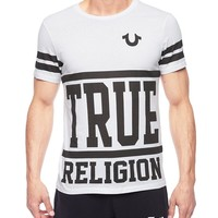 True Religion First String Mens T-shirt - White