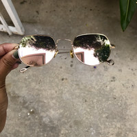 Flourish Vintage Mirrored Round Sunnies