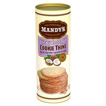 4.6 oz Mandy�۪s Toasted Coconut Cookie Thins