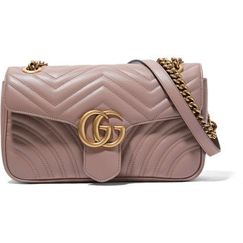 Gucci - GG Marmont 2.0 small quilted leather shoulder bag