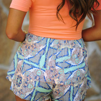 Cute As Can Be Shorts: Multi | Hope's