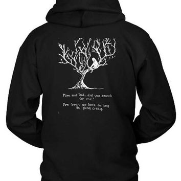 DCCKL83 Pierce The Veil Hold On Till May Lyrics Hoodie Two Sided