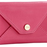 Envelope Card Case, Pink, Clutches & Evening Bags