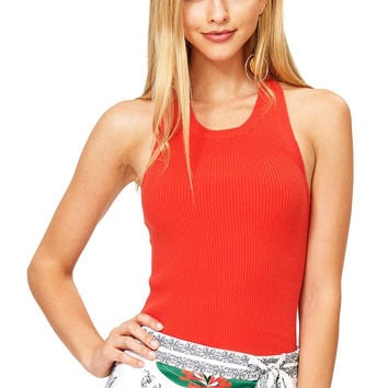 Strike Knit Crop Top